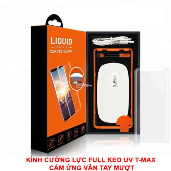 Kính cường lực full keo UV Note FE/7 hiệu T-max