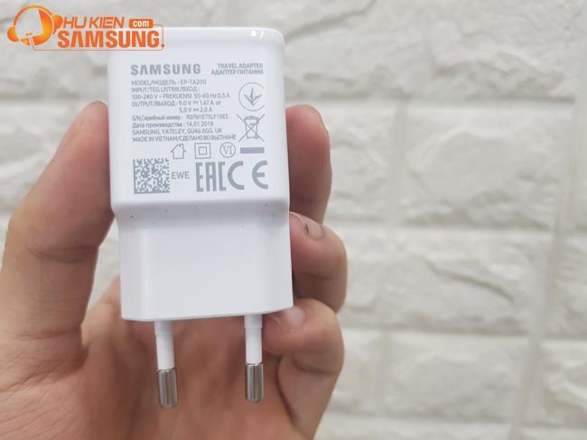 Bộ cáp sạc nhanh Samsung S10 chính hãng