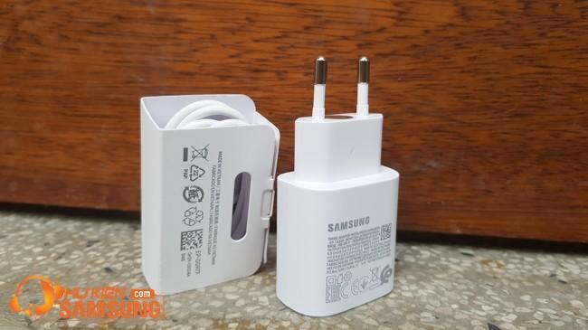 Bộ sạc Samsung Note 10 Lite 25w theo máy