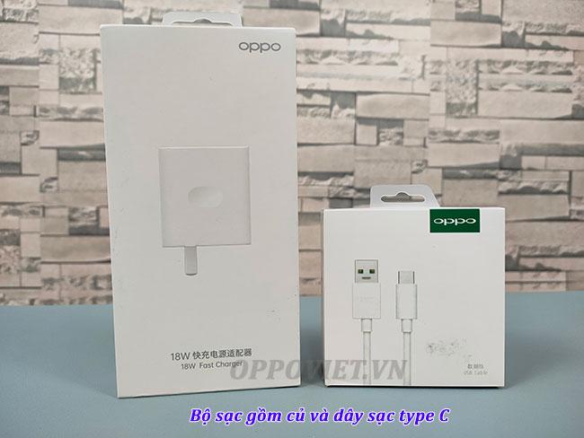 Bộ sạc nhanh Oppo 18w giá rẻ